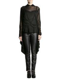 black jersey blouse 1